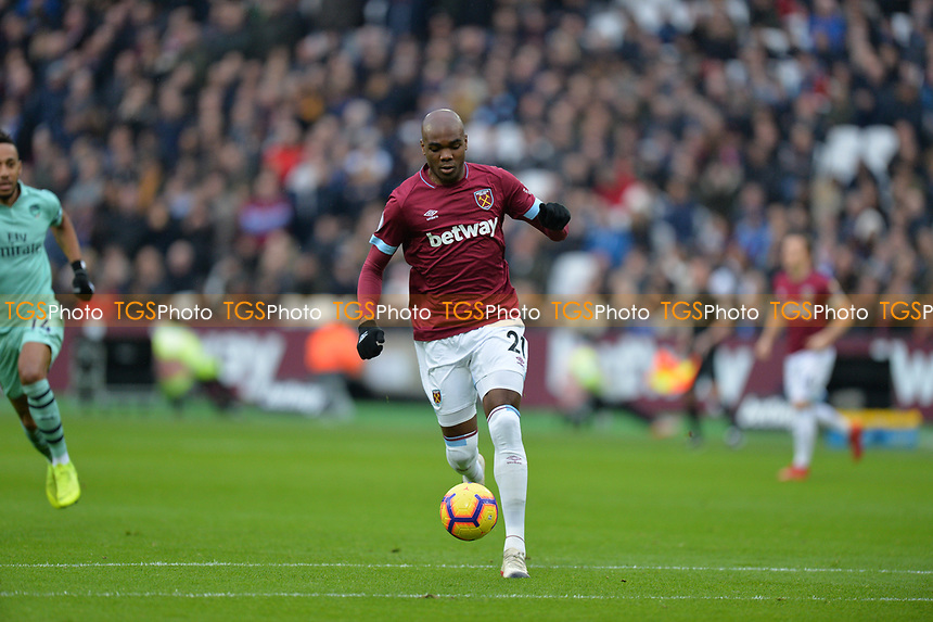 Angelo Ogbonna during West Ham United vs Arsenal, Premier League Football at The London Stadium on 12th January 2019