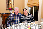Evening Dinner: John & Christina Curtin enjoying evening dinner at the Listowel Arms Hotel on Saturday night last.