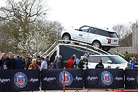 Land Rover. The Clash, Aviva Premiership match, between Bath Rugby and Leicester Tigers on April 7, 2018 at Twickenham Stadium in London, England. Photo by: Matt Impey / Wired Photos for Onside Images