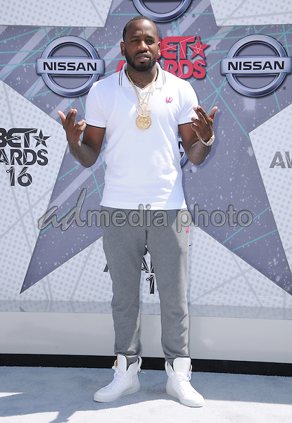 26 June 2016 - Los Angeles. Young Greatness. Arrivals for the 2016 BET Awards held at the Microsoft Theater. Photo Credit: Birdie Thompson/AdMedia