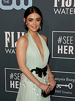 SANTA MONICA, CA - JANUARY 13: Lucy Hale attends the 24th annual Critics' Choice Awards at Barker Hangar on January 12, 2020 in Santa Monica, California. <br /> CAP/MPI/IS/CSH<br /> ©CSHIS/MPI/Capital Pictures