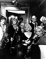 Some Like It Hot (1959)<br /> Marilyn Monroe, Tony Curtis, Jack Lemmon<br /> *Filmstill - Editorial Use Only*<br /> CAP/KFS<br /> Image supplied by Capital Pictures