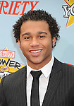 "HOLLYWOOD, CA. - December 05: Corbin Bleu arrives at Variety's 3rd annual ""Power of Youth"" event held at Paramount Studios on December 5, 2009 in Los Angeles, California."