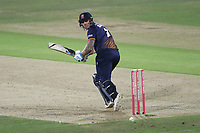 Matt Coles in batting action for Essex during Kent Spitfires vs Essex Eagles, Vitality Blast T20 Cricket at the St Lawrence Ground on 2nd August 2018
