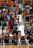 Florida International University center Brandon Moore (22) plays against ULM, which won the game 54-50 on January 07, 2012 at Miami, Florida. .
