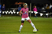 Kansas City, MO - Friday May 13, 2016: FC Kansas City defender Alex Arlitt (5) against the Chicago Red Stars during a regular season National Women's Soccer League (NWSL) match at Swope Soccer Village. The match ended 0-0.