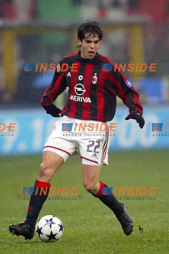 Milano 21/2/2004<br /> Milan Inter 3-2<br /> Kaka (Milan) <br /> Foto Andrea Staccioli Insidefoto