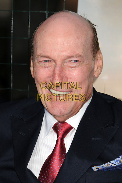 """Ed Lauter.""""Trouble With The Curve"""" Los Angeles Premiere held at the Regency Village Theatre, Westwood, California, USA..September 19th, 2012.headshot portrait suit black blue red tie white shirt .CAP/ADM/BP.©Byron Purvis/AdMedia/Capital Pictures."""