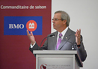 Montreal,(Qc) CANADA - Feb 28 2011 - Jacques L Menard, Bank of Montreal at the Canadian Club