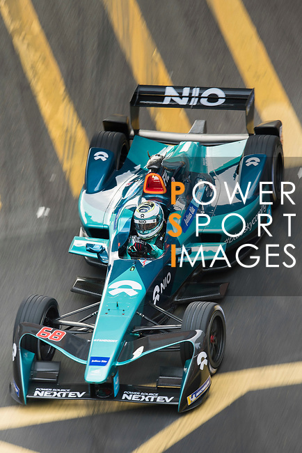 Luca Filippi of Italy from NIO Formula E Team on track at the Formula E Non-Qualifying Practice 3 during the FIA Formula E Hong Kong E-Prix Round 2 at the Central Harbourfront Circuit on 03 December 2017 in Hong Kong, Hong Kong. Photo by Victor Fraile / Power Sport Images