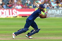Varun Chopra hits four runs for Essex during Gloucestershire vs Essex Eagles, NatWest T20 Blast Cricket at The Brightside Ground on 13th August 2017