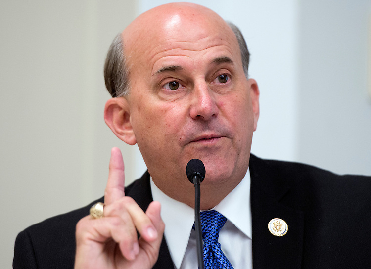 UNITED STATES - MAY 09:  Rep. Louie Gohmert, R-Texas, speaks at a forum in Rayburn called a Conversations with Conservatives to discuss issues including appropriations and the upcoming reconciliation package. (Photo By Tom Williams/CQ Roll Call)