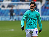 Blackburn Rovers' Lewis Travis during the pre-match warm-up <br /> <br /> Photographer David Shipman/CameraSport<br /> <br /> The EFL Sky Bet Championship - Sheffield Wednesday v Blackburn Rovers - Saturday 16th March 2019 - Hillsborough - Sheffield<br /> <br /> World Copyright &copy; 2019 CameraSport. All rights reserved. 43 Linden Ave. Countesthorpe. Leicester. England. LE8 5PG - Tel: +44 (0) 116 277 4147 - admin@camerasport.com - www.camerasport.com