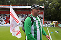 Neil Trebble - March for Mitch<br />  Stevenage v Oldham Athletic - Sky Bet League 1 - Lamex Stadium, Stevenage - 3rd August, 2013<br />  © Kevin Coleman 2013