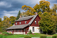 Poet Robert Frost Stone House Museum, Shaftsbury, Vermont, USA.