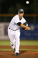April 10th 2009:  Relief Pitcher Ross Buckwalter of the Dunedin Blue Jays, Florida State League Class-A affiliate of the Toronto Blue Jays, during a game at Dunedin Stadium in Dunedin, FL.  Photo by:  Mike Janes/Four Seam Images