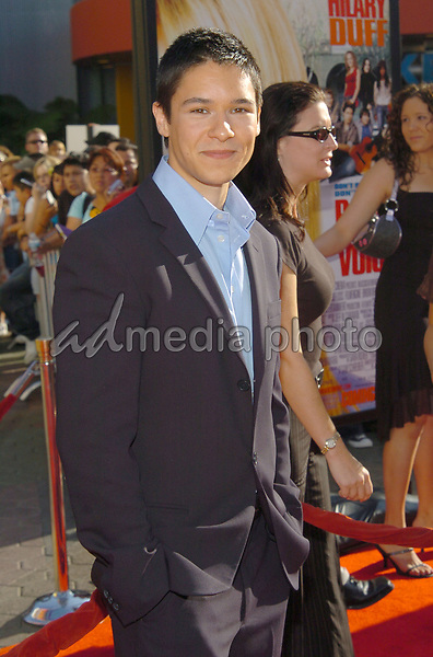 03 October 2004- Universal City, CA -  Oliver James at 'Raise Your Voice' Los Angeles Premiere held at Lowes Universal City 18 Theatre. Photo Credit: V. Summers/AdMedia