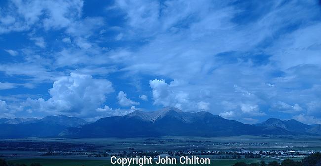Photo of the Collegiate Peaks, Colorado.