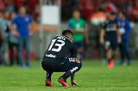 11th February 2020; Beira-Rio Stadium, Porto Alegre, Brazil; Libertadores Cup, Internacional versus Universidad de Chile; Camilo Moya of Universidad de Chile dejected after the defeat