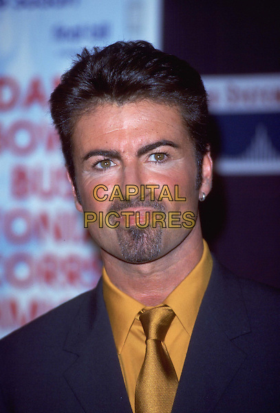 GEORGE MICHAEL .Ref: 8857.goatee, gay, headshot, portrait.*RAW SCAN - photo will be adjusted for publication*.www.capitalpictures.com.sales@capitalpictures.com.© Capital Pictures