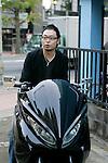 Hisashi Matsushita, Custom Scooter Magazine editor in chief.
