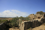Israel, Carmel coast, Karta ruins (Dustrey), a small Crusader post in Atlit, the stable .