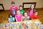 Having fun at the Frozen Summer Camp in the Clubrooms, Castlegregory last week were: Hanna Curtin, Emma Lynch, Darren Smith, Zoe Keane Costello, Jennifer O'Donnell, Aoife Butler and Sam Curtin.