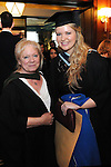 21/11/2014  Attending the Irish College of Humanities and Applied Science Conferrings in The Castletroy Park Hotel were Christine Beekman, Lecturer, Irish College of Humanities and Applied Science and Deirdre Murphy, Mullinavat, Kilkenny, who was conferred with a B.A Hons in Counselling and Psychotherapy.<br /> Picture: Gareth Williams