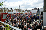 Brentford 0 Doncaster Rovers 1, 27/04/2013. Griffin Park, League One. Griffin Park hosts a showdown between two clubs aiming for automatic promotion from League One. Supporters gather before kick-off. Photo by Simon Gill.