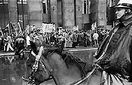Manhattan, New York City, NY. February 1970.<br />