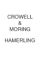 Crowell & Moring Hamerling