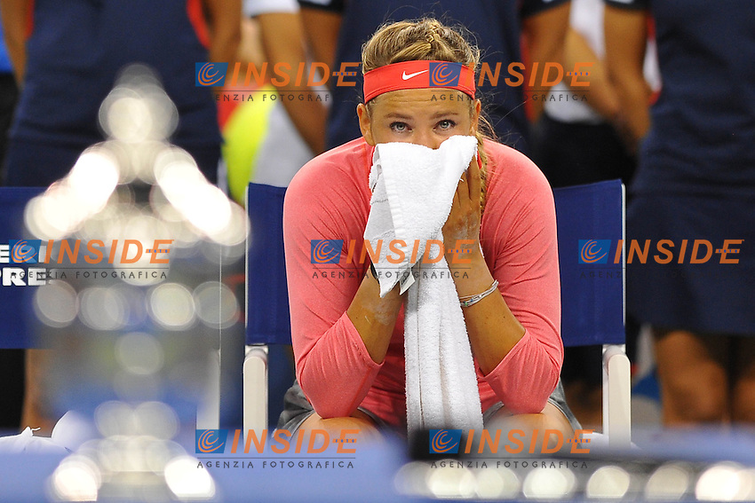Victoria Azarenka (Bel) <br /> Flushing Meadows 08/09/2013<br /> Tennis US Open Finale Donne <br /> Foto Panoramic / Insidefoto<br /> ITALY ONLY