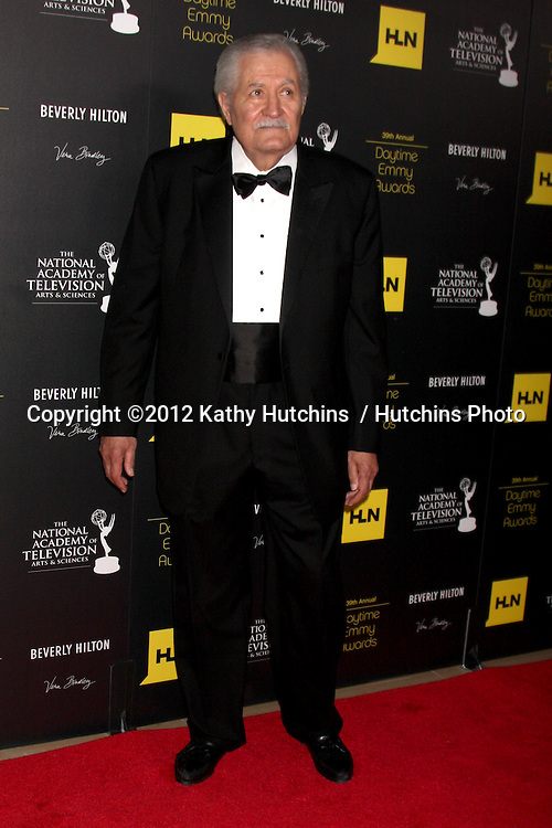 LOS ANGELES - JUN 23:  John Aniston arrives at the 2012 Daytime Emmy Awards at Beverly Hilton Hotel on June 23, 2012 in Beverly Hills, CA