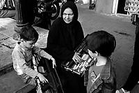 Teheran, Iran, October 9, 2007.Street scene.