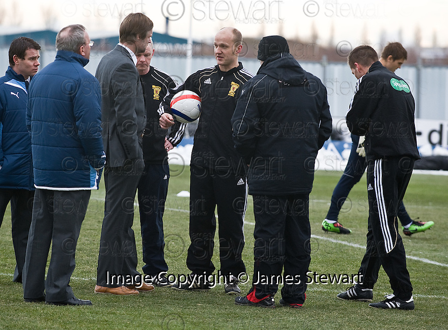 18/12/2010   Copyright  Pic : James Stewart.sct_jsp001_falkirk_late_call_off   .:: REFEREE MAT NORTHCROFT EXPLAINS TO PARTICK MANAGER IAN MCCALL AND FALKIRK MANAGER STEVEN PRESSLEY ABOUT HIS DECISION TO CALL OF THE GAME AT 2.00PM DESPITE THE PITCH PASSING AN EARLIER INSPECTION ::.James Stewart Photography 19 Carronlea Drive, Falkirk. FK2 8DN      Vat Reg No. 607 6932 25.Telephone      : +44 (0)1324 570291 .Mobile              : +44 (0)7721 416997.E-mail  :  jim@jspa.co.uk.If you require further information then contact Jim Stewart on any of the numbers above.........26/10/2010   Copyright  Pic : James Stewart._DSC4812  .::  HAMILTON BOSS BILLY REID ::  .James Stewart Photography 19 Carronlea Drive, Falkirk. FK2 8DN      Vat Reg No. 607 6932 25.Telephone      : +44 (0)1324 570291 .Mobile              : +44 (0)7721 416997.E-mail  :  jim@jspa.co.uk.If you require further information then contact Jim Stewart on any of the numbers above.........26/10/2010   Copyright  Pic : James Stewart._DSC4812  .::  HAMILTON BOSS BILLY REID ::  .James Stewart Photography 19 Carronlea Drive, Falkirk. FK2 8DN      Vat Reg No. 607 6932 25.Telephone      : +44 (0)1324 570291 .Mobile              : +44 (0)7721 416997.E-mail  :  jim@jspa.co.uk.If you require further information then contact Jim Stewart on any of the numbers above.........