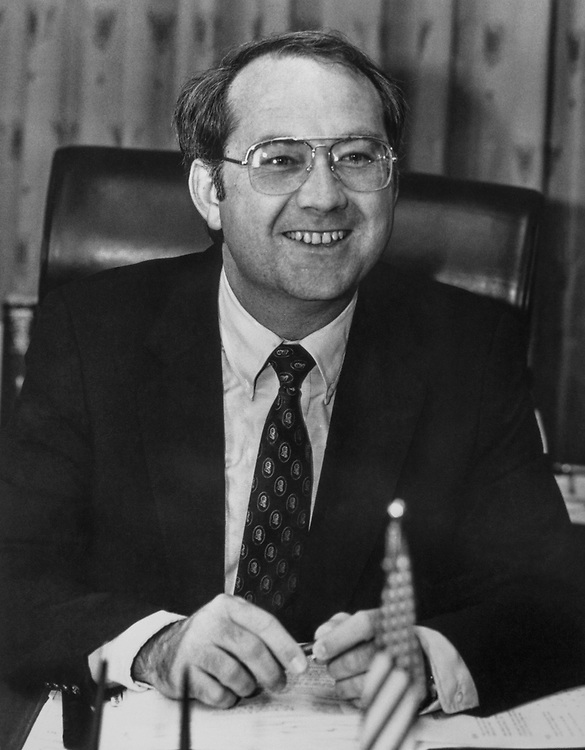 Sen. Phil Gramm, R-Tex. (Photo By CQ Roll Call)