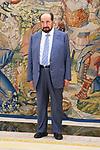 Sultan Bin Muhammad Al Qasimi of United Arab Emirates in Zarzuela Palace. October 09, 2019.. (ALTERPHOTOS/ Francis Gonzalez)