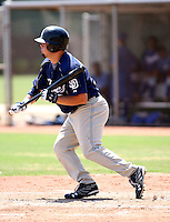 Jaff Decker / AZL Padres..Photo by:  Bill Mitchell/Four Seam Images