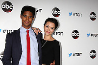 Alfred Enoch, Katie Findlay<br /> TGIT Premiere Event for Grey's Anatomy, Scandal, How to Get Away With Murder, Palihouse, West Hollywood, CA 09-20-14<br /> David Edwards/DailyCeleb 818-249-4998
