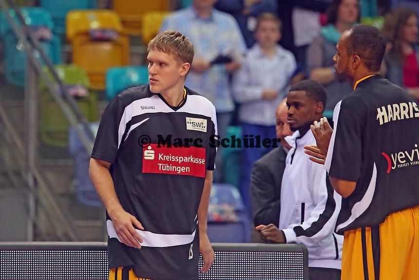 Johannes Lischka (Tübingen) - Fraport Skyliners vs. Walter Tigers Tübingen, Fraport Arena Frankfurt