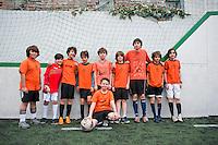 Lucas football in the Escandon league.  Mexico DF