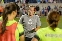 Chicago, IL - Sunday Sept. 04, 2016: Laura Harvey during a regular season National Women's Soccer League (NWSL) match between the Chicago Red Stars and Seattle Reign FC at Toyota Park.