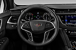 Car pictures of steering wheel view of a 2020 Cadillac XT5 Premium-Luxury 5 Door SUV Steering Wheel