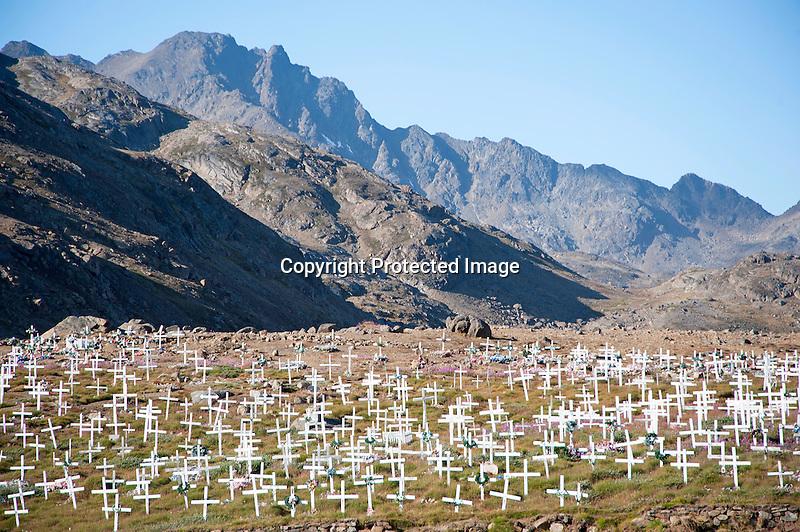 Cemetery Tasiilaq Greenland