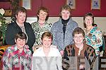 REUNION: Past pupils of Boheeshil National School, Glencar, held a reunion in Devs in the Square, Killorglin, last Saturday night. Front l-r: Rita ODea and Debra Devane, Killarney, and Joan McGillicuddy, Glencar. Back l-r: Pauline Horgan, Ballyheigue, Mary ODonoghue, Killarney, Mary Talbot, Glencar, and Monica Breen, Glencar..