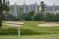 Takumi KANAYA (JPN) chips on to 7 during Rd 4 of the Asia-Pacific Amateur Championship, Sentosa Golf Club, Singapore. 10/7/2018.<br /> Picture: Golffile | Ken Murray<br /> <br /> <br /> All photo usage must carry mandatory copyright credit (&copy; Golffile | Ken Murray)