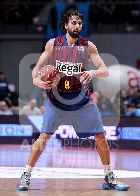 FC Barcelona Regal's Victor Sada during Liga Endesa ACB match.January 13,2012. (ALTERPHOTOS/Acero)