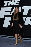 www.acepixs.com<br /> April 8, 2017  New York City<br /> <br /> Maria Menounos attending 'The Fate Of The Furious' New York premiere at Radio City Music Hall on April 8, 2017 in New York City.<br /> <br /> Credit: Kristin Callahan/ACE Pictures<br /> <br /> <br /> Tel: 646 769 0430<br /> Email: info@acepixs.com