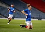 25.04.2019 Celtic v Rangers youth cup final: Nathan Young-Coombes celebrates his winning goal