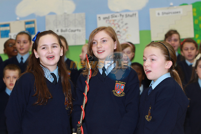 The official opening of St Mary's parish school 12/12/12 12.12.Picture: Fran Caffrey/www.newsfile.ie.